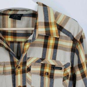Oakley Therm Gauge Plaid Flannel Button Shirt